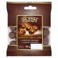 Dr. Ensa Lísková jádra v mléčné čokoládě ...