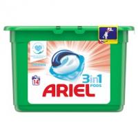 Ariel Sensitive 3v1 prací tablety 14ks