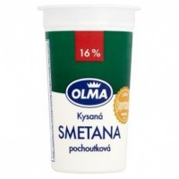 Olma Kysaná smetana 16% 200g