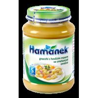 HAMÁNEK kojenecká výživa Gnocchi s hovězím m...