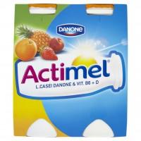 Danone Actimel Jogurtové mléko ovocná směs 4 x...