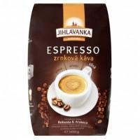 Jihlavanka Espresso zrnková káva 500g