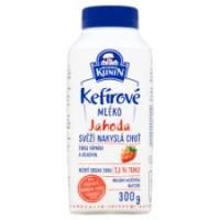Mlékárna Kunín Kefírové mléko jahoda 300g