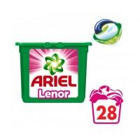 Ariel Touch of Lenor gelové kapsle  28 ks