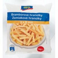 """ARO Hranolky kvalita """"B"""" mraž. 1kg"""