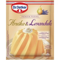 Dr. Oetker Premium puding Hruška&Levandule 40...