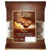 Dr. Ensa Kešu v mléčné čokoládě 80g