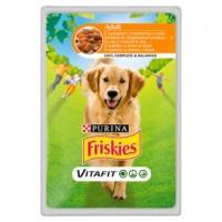 Friskies PES VitaFit kapsička s kuřetem a mrkví...