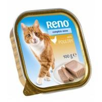 Reno Vanička pro kočku s drůbežím 100g