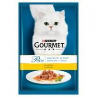 GOURMET Perle mini filetky ve šťávě s kuřetem...