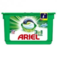 Ariel Mountain Spring 3v1 prací tablety 12ks