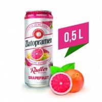 Zlatopramen Radler Grapefruit, plech 0,5l