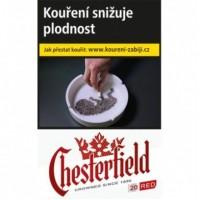 Chesterfield červený 20ks