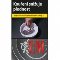 L&M LOFT Black BOT SLI 20ks