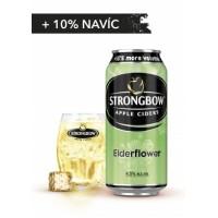 Strongbow Elderflower plech 0,44l