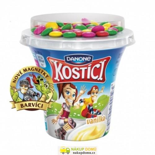 Danone Kostíci jogurt vanilka 107g