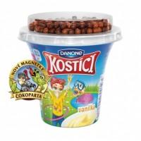 Danone Kostíci jogurt vanilkový s čokoládovým...