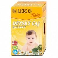 Leros Baby Dětský čaj bylinný 20x1,8g
