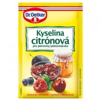 Dr. Oetker Kyselina citrónová 20g