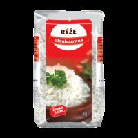Česká Cena Rýže dlouhozrnná loupaná 1kg