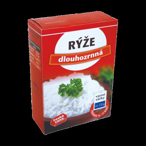 Česká Cena Rýže dlouhozrnná 480g