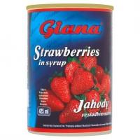 Giana Jahody ve sladkém nálevu 410g