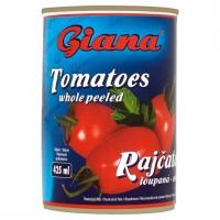 Giana Rajčata loupaná - celá 400g