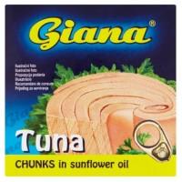 Giana Tuňák kousky ve slunečnicovém oleji 80g