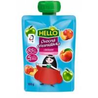Hello Ovocná kapsička s broskvemi a vitaminem C ...
