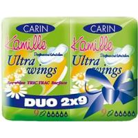 Carine Ultra wings Duo dámské vložky 18 ks/bal.