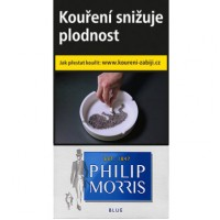 Philip Morris 100 modrý  20ks