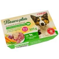 BRAVO plus vanička s jehněčím pro psa 325 g
