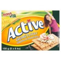 Bona Vita Active Křehké plátky vláknina & slun...