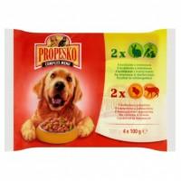 Propesko Kompletní krmivo pro dospělé psy, výb...