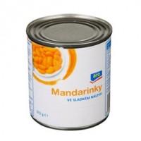 ARO Kompot mandarinkový ve sladkém nálevu 314ml