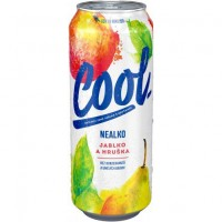 Cool nealkohol pivo jablko a hruška plech 500ml
