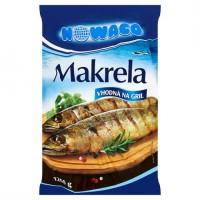 Nowaco Makrela obecná kuchaná s hlavou hluboce z...