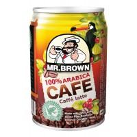 Mr. Brown Ledová káva Caffé latte 250ml