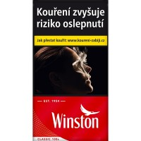 Winston 100 červený 20ks