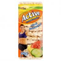 Bona Vita Active Celozrnné chlebíčky rýžové ...