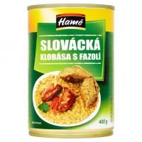 Hamé Slovácká klobása s fazolí 400g