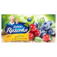 Babička Růženka Ovocný čaj s příchutí bor�...