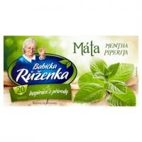 Babička Růženka Bylinný čaj máta 20 x 2g