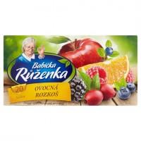 Babička Růženka Čaj ovocná rozkoš 20 x 2g