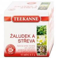 Teekanne Funkční čaj žaludek a střeva 20g
