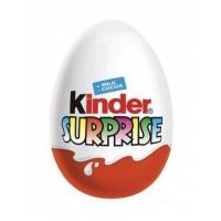 Kinder Surprise Sladké vajíčko s mléčnou čok...