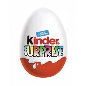Kinder Surprise Sladké vajíčko s mléčnou čokoládou a s překvapením 20g
