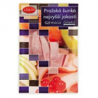 Le&Co Pražská Šunka nejvyšší jak. shaved...