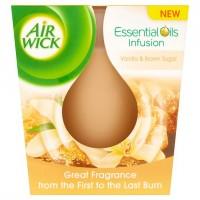 Air Wick Essential Oils Svíčka vanilkové cukrov...