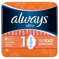 Always Ultra Normal dámské vložky 10ks